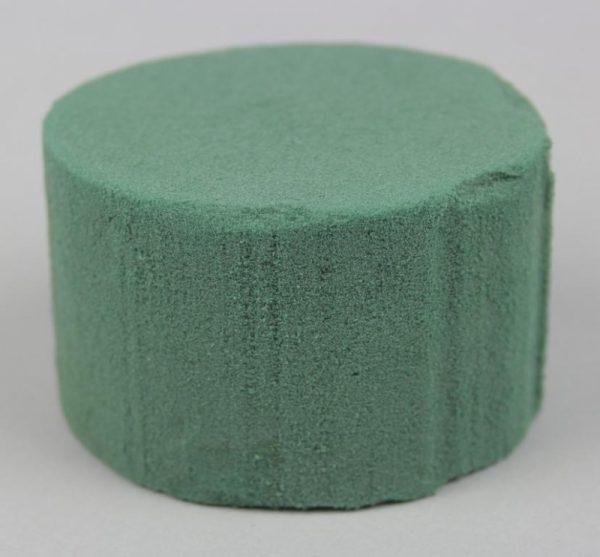 Kreis grün 5x8cm - Für Geschäfte und Künstler>Blumenarrangement>Blumenschaum