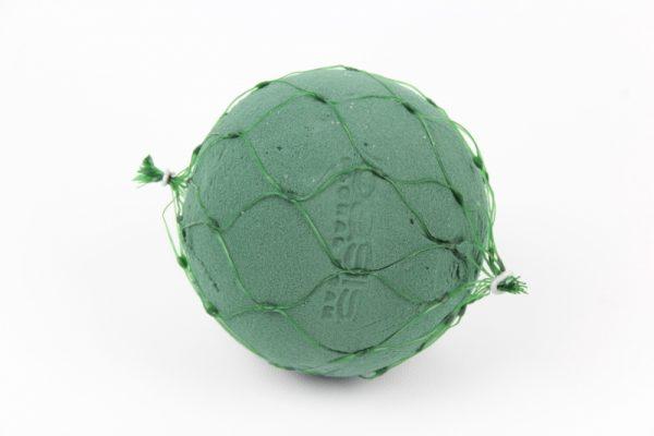 Florexkugel mit Netz - 12cm - Für Geschäfte und Künstler>Blumenarrangement>Blumenschaum