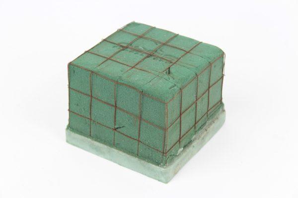 Florex-Würfel aus Draht - 11x11x8