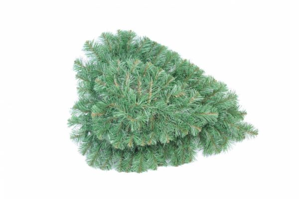 Herz klein - künstliche Nadeln - 60x55cm - Für Geschäfte und Künstler>Blumenarrangement>Künstliche grüne Kränze