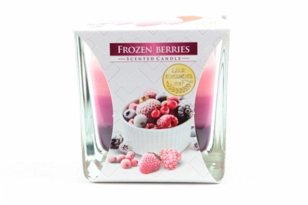 Duftkerze - Gefrorene Erdbeeren 170gr / 32h. - Zuhause und Wohnen>Kerzen