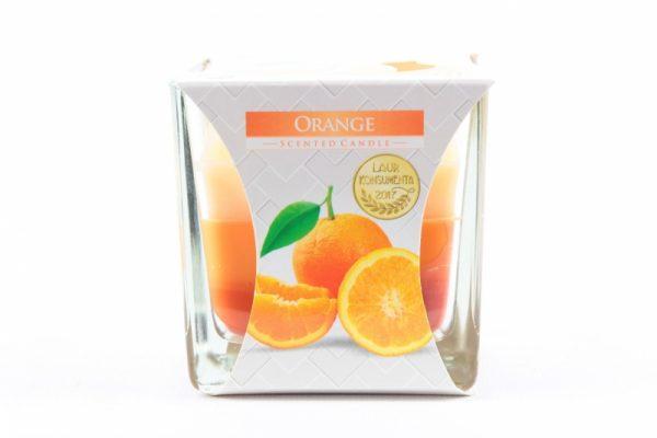 Duftkerze Orange 170g./32h. - Zuhause und Wohnen>Kerzen