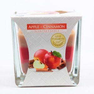 Duftkerze 170g./32h. Apfel Zimt - Zuhause und Wohnen>Kerzen