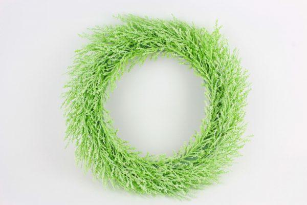 Grüner Kranz 1 - Für Geschäfte und Künstler>Blumenarrangement>Künstliche Blumen und Pflanzen