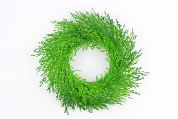 Kranz aus Grün - Für Geschäfte und Künstler>Blumenarrangement>Künstliche Blumen und Pflanzen
