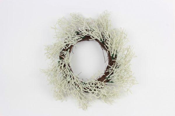 Kranz aus grünen Zweigen - Für Geschäfte und Künstler>Blumenarrangement>Künstliche Blumen und Pflanzen