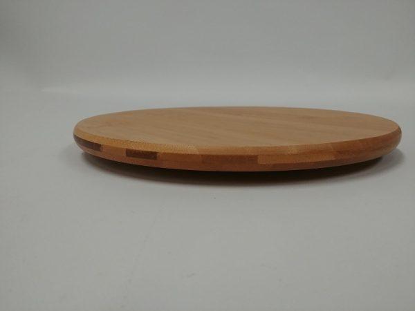 Drehtablett aus Bambus - Küche und Bad