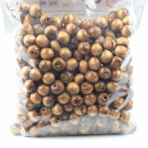 Holzperlen (Packung 100gr) - Für Geschäfte und Künstler>Perlen
