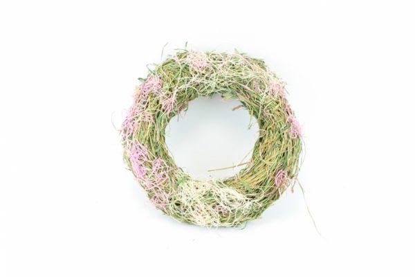Weidenkranz lila 1 - Für Geschäfte und Künstler>Blumenarrangement>Basis für Blumenarrangement