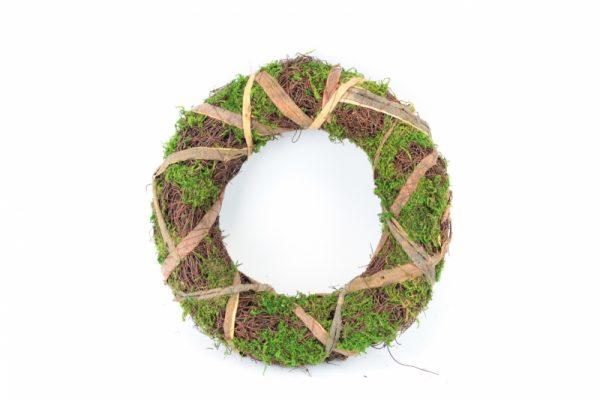 Kranz aus grünem Moos - Für Geschäfte und Künstler>Blumenarrangement>Basis für Blumenarrangement