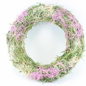 Wicker lila Kranz - Für Geschäfte und Künstler>Blumenarrangement>Basis für Blumenarrangement