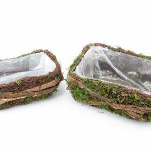 Weidendecke grünes Moos S / 2 - Für Geschäfte und Künstler>Blumenarrangement>Basis für Blumenarrangement