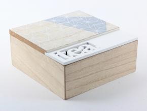 Holzdose für Tee - Zuhause und Wohnen>Fallen und Kisten