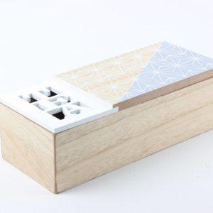 Holzdose für Tee 1 - Zuhause und Wohnen>Fallen und Kisten
