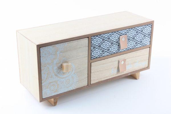 Schubladenbox aus Holz 2 - Zuhause und Wohnen>Fallen und Kisten