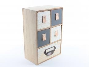 Schubladenbox aus Holz 1 - Zuhause und Wohnen>Fallen und Kisten