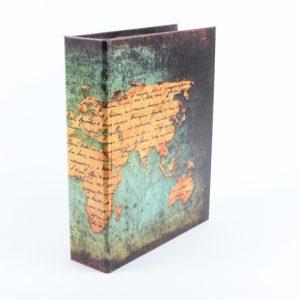 Dekorative Buchbox aus Holz 1 - Zuhause und Wohnen>Fallen und Kisten