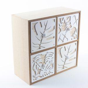 Schubladenbox aus Holz - Zuhause und Wohnen>Fallen und Kisten