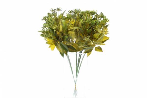 Ansteck-Grün 6 Zweige - Für Geschäfte und Künstler>Blumenarrangement>Künstliche Blumen und Pflanzen