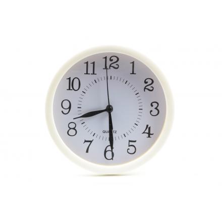 Wanduhr Grundplastik weiß - Zuhause und Wohnen>Uhren