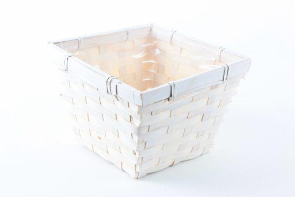 Blumentopf aus Holz mit Folie (3 Stück) - Für Geschäfte und Künstler>Blumenarrangements>Blumentöpfen und Körben