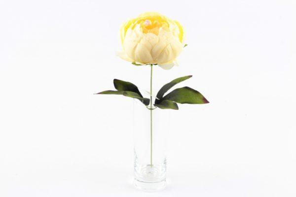 Gelbcreme-Peonia Künstliche Pflanze - Für Geschäfte und Künstler>Blumenarrangements>Künstliche Blumen und Pflanzen