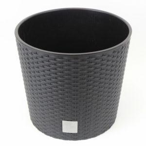Kunststoff Blumentopf dunkelgrau - Für Geschäfte und Künstler>Blumenarrangements>Blumentöpfen und Körben