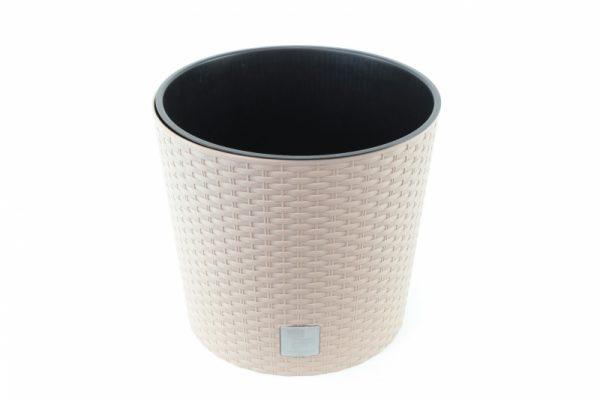 Kunststoff Blumentopf mocca - Für Geschäfte und Künstler>Blumenarrangements>Blumentöpfen und Körben
