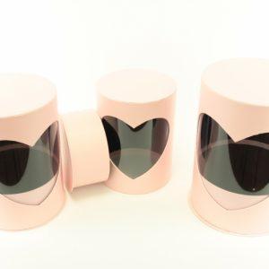 Pappdosen 3 Stk - Für Geschäfte und Künstler>Blumenarrangements>Blumenboxen
