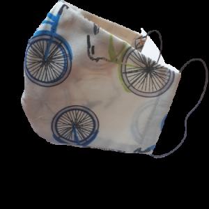 Gesichtsmaske Fahrradmuster - Zubehör>Gesichtsmasken