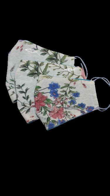 Gesichtsmasken mit Blumenmuster - Zubehör>Gesichtsmasken